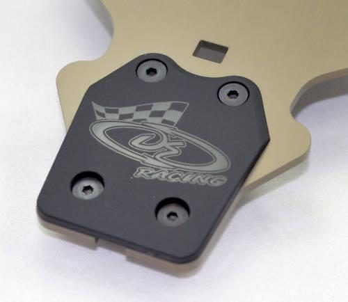 Sumo Racing HD Mugen MBX-8 MBX-8T ECO Frt /& Rr Skid Plates MBX-8R MBX8 MBX8T