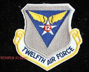 12th Air Force Organization, August 20, 1942