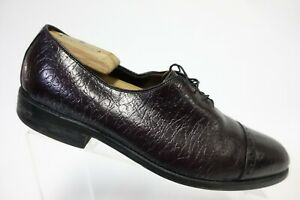 ALLEN-EDMONDS-Vintage-Ashton-Cap-Toe-Red-Sz-8-C-Men-Dress-Shoes