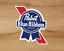 Indexbild 3 - PBR Pabst Blue Ribbon Bier Premium Qualität Vinyl 2 Sticker Pack Aufkleber 3x2