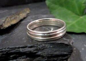 Toller-925-Sterling-Silber-Ring-LS-Signiert-Damen-Herren-Unisex-Daumen-Gross-Chic