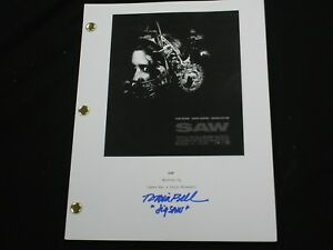 TOBIN-BELL-Signed-SAW-Movie-SCRIPT-Autograph-Jigsaw-RARE-BECKETT-BAS-COA