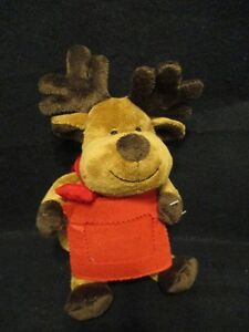 DAN-DEE-Plush-Christmas-Stuffed-Holiday-Reindeer-with-Gift-Card-Pouch-NWT