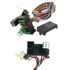 12 Circuit Basic Wire Harness Fuse Box Bumper Wire Kit For A/C, Ignition/Battery