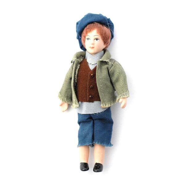 """Aggressivo Dolls House 5769 Bambola """"george-the Urchin"""" Doll 1:12 Per Casa Delle Bambole Nuovo! # Moda Attraente"""