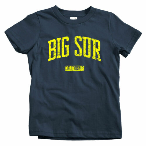 Baby Toddler Youth Tee Big Sur California Kids T-shirt Monterey CA 831 Surf