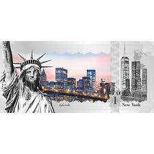 1$ 2017 Cook Islands - Skyline Dollar - New York
