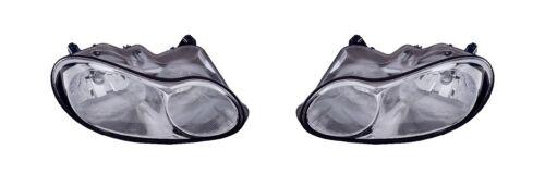 1998-2001 CHRYSLER CONCORDE HEADLAMP HEADLIGHT LIGHT LEFT AND RIGHT PAIR SET