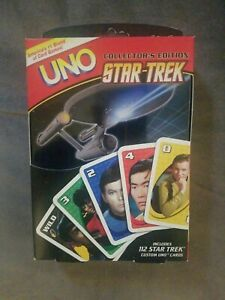 STAR-TREK-COLLECTORS-EDITION-UNO-CARDS-SET-IN-TIN-New-on-Box