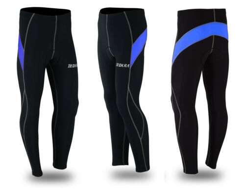 Men/'s Cycling Tights Winter Thermal Cold Wear Padded Legging Cycling Trouser
