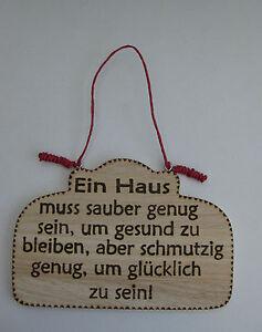 Turschild Spruch Schild Haus Einzug Hauser Geschenk Mitbringsel
