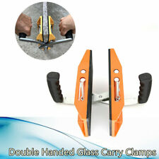 1x Double Handed Carry Clamp For Carrying Glass Granite Stone And Ceramic Plate