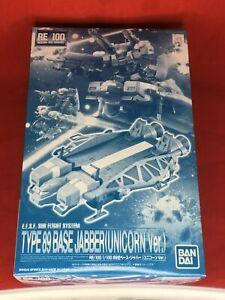 BANDAI-RE-100-1-100-tipo-89-base-Jabber-unicorno-Model-Kit-Gundam-UNIVERSAL-CENTURY