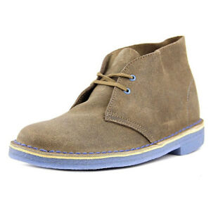 Clarks Originals Women's Desert Taupe Distressed Lace-Up Boot