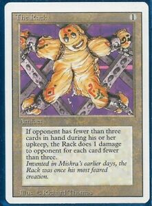 MTG Magic The Gathering The Rack Revised Artifact X 1 3rd Edition
