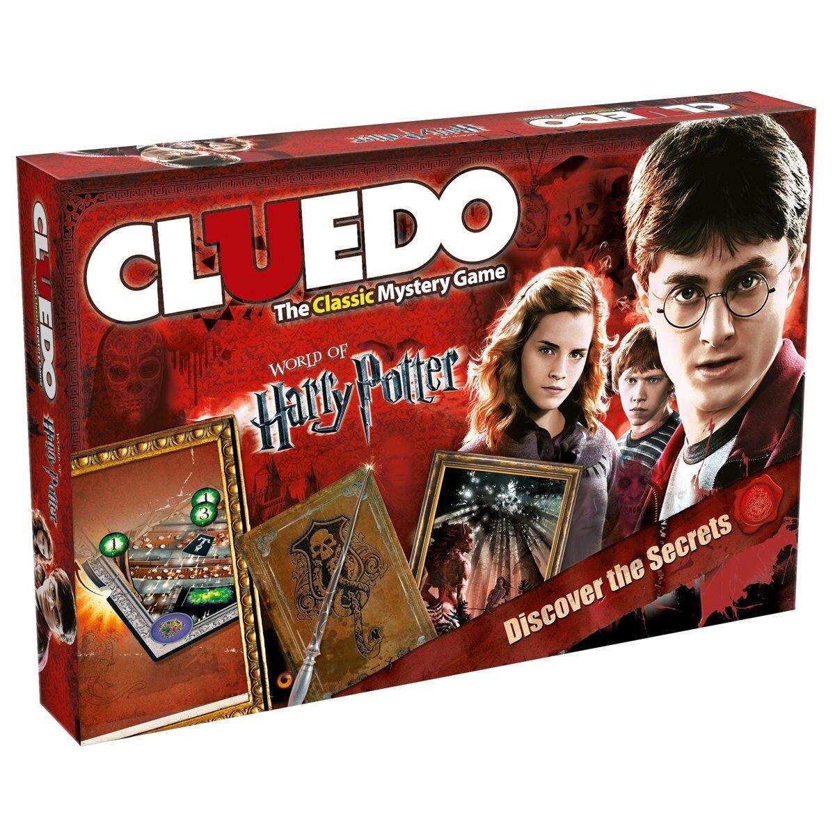 CLUEDO CLUEDO CLUEDO HARRY POTTER gioco da Tavolo Gioco tavola gioco Gioco Inglese inglese NUOVO nuovo a74094