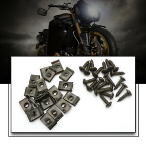 20-X-Plastic-Body-Screw-and-Clips-Chinese-GY6-Scooter-50-150-Cheap