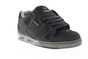 Globe-Sabre-Mens-Gray-Nubuck-amp-Synthetic-Athletic-Lace-Up-Skate-Shoes
