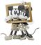 Hallmark-Valentine-Disney-Mickey-and-Minnie-Love-Made-for-Two-Figurine-New 縮圖 1