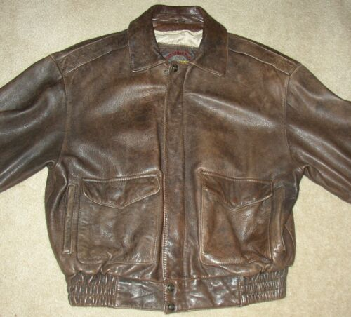 Vintage Wilson Adventure Bound Thick Brown Leather