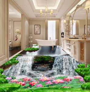 3D Wasserfall 48 Fototapeten Wandbild Fototapete Tapete Familie DE Lemon