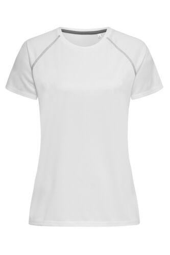 Breathable Quick Dry Polyester Ladies Womens Raglan Athletic T-Shirt Tee Shirt