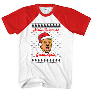 44f4d0aa7 Make Christmas Great Again T-Shirt Xmas T Shirt Funny Donald Men ...