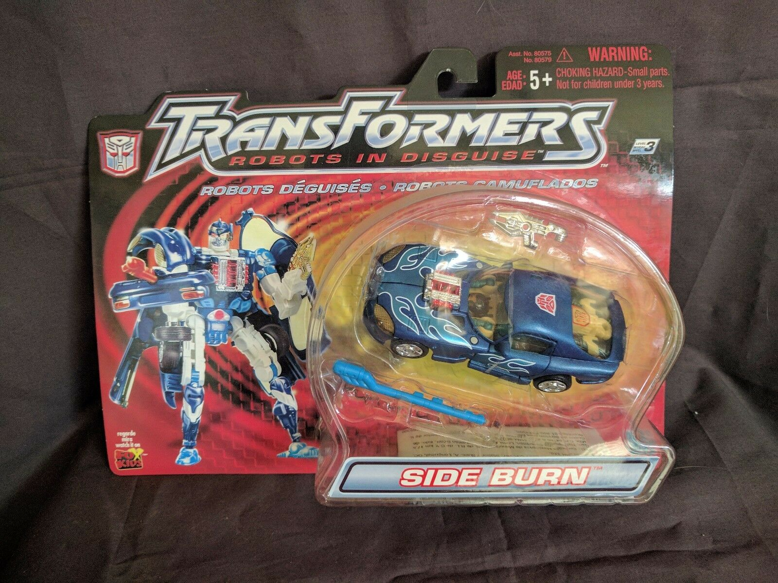 TRANSFORMERS *Robots In Disguise* MISB Deluxe SIDEBURN