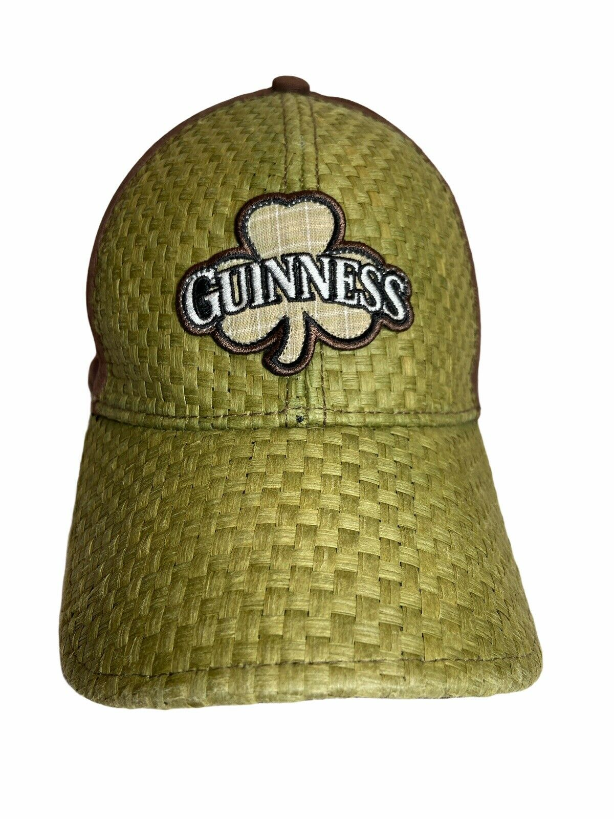 Guinness Beer Woven Straw Cap Hat OS - image 4