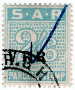I-B-South-Africa-Railways-Parcel-Stamp-2-6d