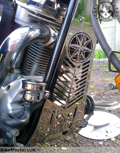YAMAHA XV 1700 XV1700 ROAD STAR STAINLESS STEEL ENGINE COVER GRILL GUARD