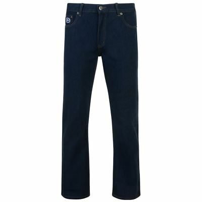 Kam Regular Fit Stretch Jeans (kbs10102), Indigo Colour, In Size 40 To 64 Inches