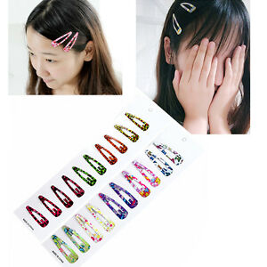 10tlg-Bunte-Kinder-Baby-Maedchen-Haarschmuck-Haarspangen-Haarnadeln-GeschenksHot