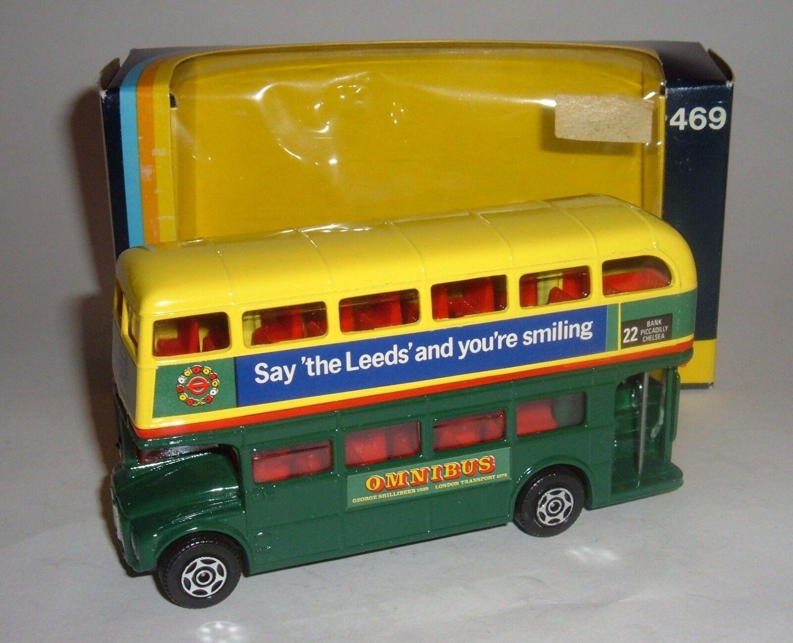 Corgi Toys No. 469, London Routemaster Bus - Leeds Building Society, - Superb.
