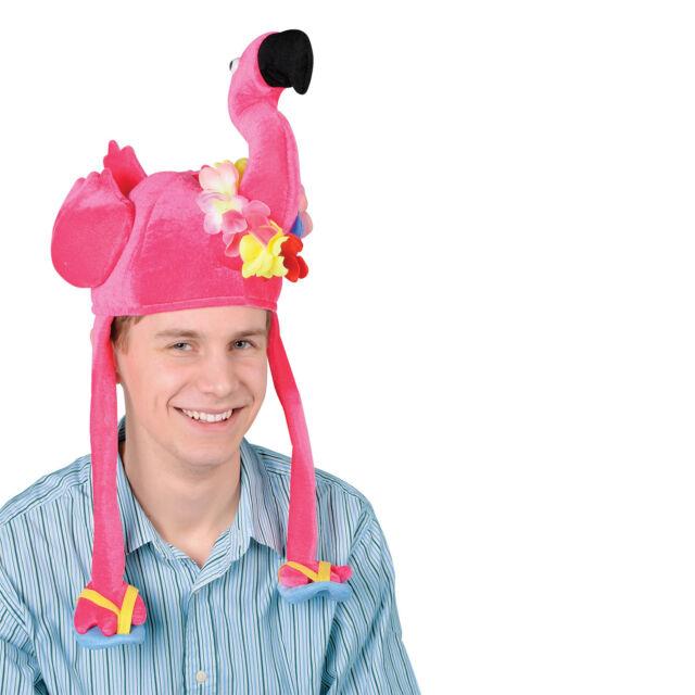 Beistle 60740 Plush Flamingo Hat