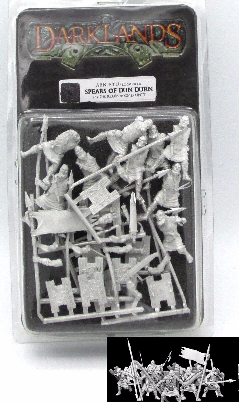 Darklands ABN-FTU-2200--010 Spears of Dun Durn Gairlom Unit 10x Warriors Command