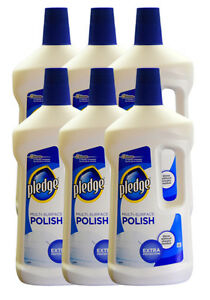 6 X Pledge Multi Surface Polish 750ml Formally Multi Surface Floor