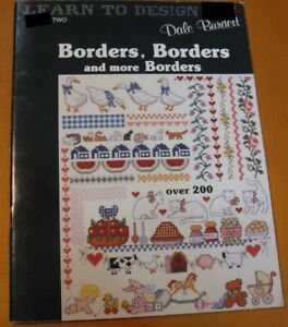 BORDERS-BORDERS-AND-MORE-BORDERS-CROSS-STITCH-LEAFLET