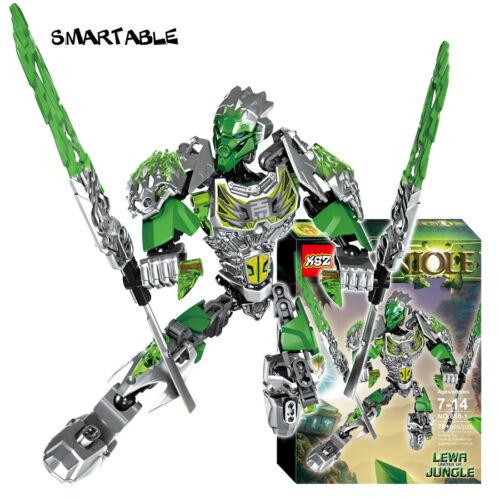 Bionicle 79pcs Lewa Jungle gardien figures 610-1 Bloc De Construction Jouets pour garçons