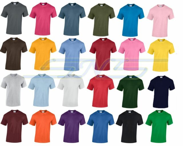 5 PacK Of T Shirt Cotton Soft Plain Summer Mens New Short Sleeves SNS APPAREL