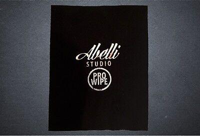 Abelli Studio Pro Wipe Vinyl Record Cleaner Cleaning Micro Fibre Polishing Cloth