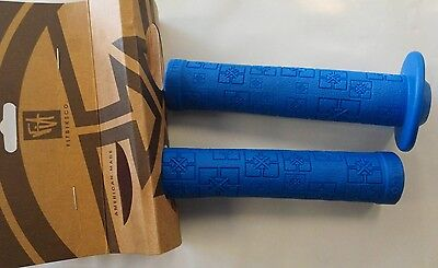 FIT BIKE CO.FITBIKECO HANDLE BAR GRIP BLUE BMX BICYCLE GRIPS handlebar grips BMX
