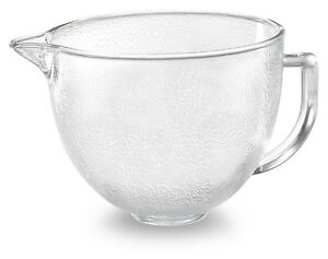 Kitchenaid Hammered Glass Bowl K5gbh For 5 Qt Stand Mixer