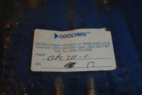 "1/"" Goodway Blue Nylon brush GTC-211-1"