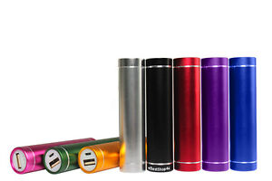 Power-Bank-Flash-Charger-External-Portable-USB-On-The-Go-2600mAh-Many-Colors