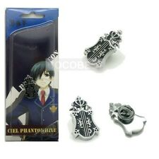 Black Butler Ciel Phantomhive II Badge Brooch Cosplay Accessory
