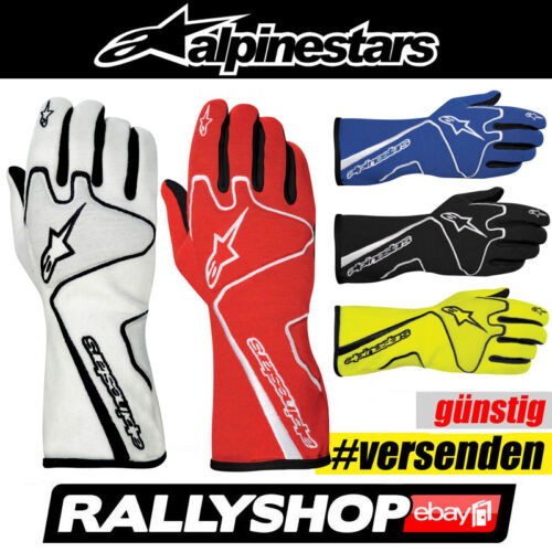 FIA  ALPINESTARS Tech 1 RACE Rennhandschuhe Handschuhe Professionelle Rally
