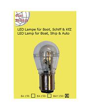 15 SMD IP LED Lampe BAY-15D Positionsleuchte Lampeneinsatz 10- 30 V Schutzkapsel