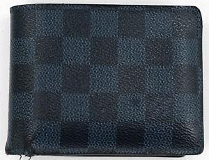 c0bcebb2e69b Image is loading Louis-Vuitton-Multiple-Wallet-Damier-Cobalt-Canvas
