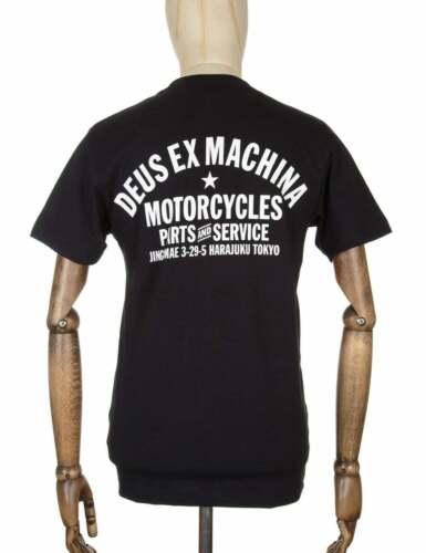 Noir Deus Ex Machina Tokyo Adresse Tee
